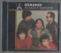 STADIO ACQUA E SAPONE CD MADE IN ITALY CONTIENE I TESTI