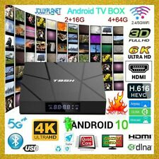 TV Box T95H Android 10.0 6K 4K 2GB 16GB + 4GB 64GB Smart TV WiFi Quad Core