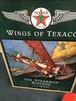 "1931 Stearman Biplane ""Wings of Texaco"" 3rd in the Series"