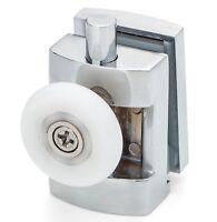 2 x Single Bottom  Zinc Alloy Shower Door Rollers/Runner 23mm Wheels L101
