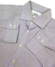 Charles Tyrwhitt Extra Slim Fit Dress Shirt 15.5 35 Mens Long Sleeve Size Sz 39