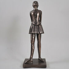 Degas danseuse statue en Bronze Ballet Sculpture Ornement fille debout cadeau 01024