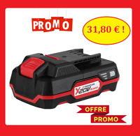 Batterie 20v 2ah Parkside compatible tout X 20 V Team batterie 2ah Lithium-Ion