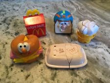 Lot Of 5 Collectible Vintage McDonald's Play Food Happy Meal Toys