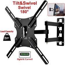 """17 32 37 42 50 55"""" TV Wall Mount Bracket Full Motion Tilt Swivel LCD LED Plasma"""