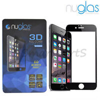100% Genuine NUGLAS® For IPHONE 7 3D Tempered GLASS Gorilla Screen Protector