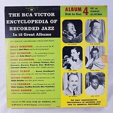"Lot of 3 The RCA Victor Encyclopedia Of Recorded Jazz 10"" VG Vinyl #s 2 3 4 1956"
