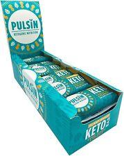 Pulsin Keto Chocolate Fudge & Peanut Bar - 18 x 50g
