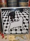 1994 Felix Vallotton 6' Art Tile Black & White Floor 2 Cats Playing Or Standoff