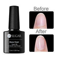 UR SUGAR 7.5ml Rubber Base Coat Soak Off UV Gellack Nagel Kunst Gel Varnish