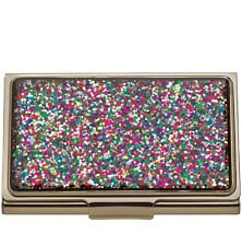 NEW IN BOX Kate Spade New York Simply Sparkling Card Holder Multi Color