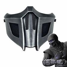 Mortal Kombat Mask Sub-Zero/Saibot/Scorpion Resin Mask For Costume Accessory