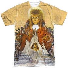 The Labyrinth Movie Poster Image Sublimation T-Shirt, NEW UNWORN