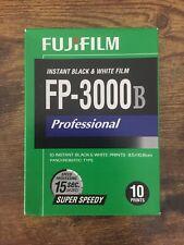 FUJIFILM FP-3000B INSTANT BLACK & WHITE EXPIRED 2010-06 UNOPENED POLAROID FUJI P