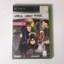 World Championship Poker Xbox Great Condition (Replacement case No manual)