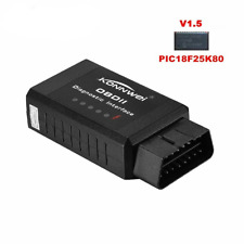 V1.5 Elm327 Bluetooth Adapter Pic18f25k80 Eml327 Obd2 1.5 For Android PC