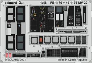 Eduard 1/48 Bell Boeing MV-22 Osprey Detail Set for HobbyBoss kits