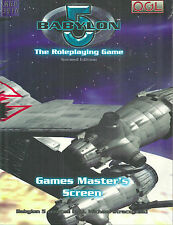"""Babylon 5 Roleplaying Game Second Edition: Games Master'S Screen"" 2006 Hc New"