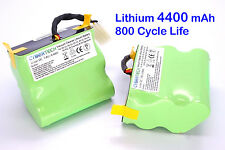 2X 4400mAh Replacement Lithium Li-Ion SUPER LONGLIFE Battery 4 Neato XV-21 XV-25