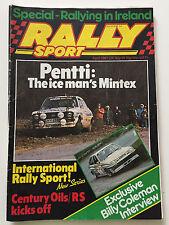 Rally Sport Magazine April 1981