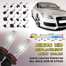 2x Xenon HID High Beam Replacement Light Bulbs 9005 9006 H1 H3 H7 H8 H9 H6M H11