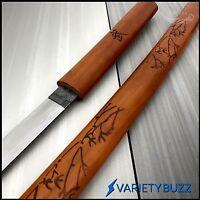 """40"""" Musashi Lacquer Wood Shirasaya Japanese Samurai Katana Sword Ninja Bushido"""