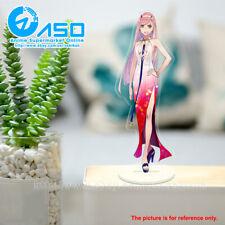 Querida en los dos Cute Anime cero franxx juguete figura de Soporte de Acrílico modelo de la exhibición