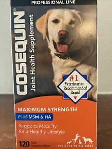 Cosequin Maximum Strength Joint Health Supplement - 120 Tablets Exp: 03/2023