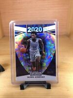 James Wiseman CRACKED ICE /23 SSP 2020 Draft Class Panini Contenders Draft Picks