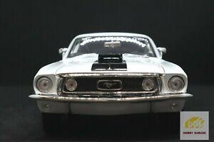 BRAND NEW | MAISTO 1:18 Diecast 1968 Ford Mustang GR Cobra Jet FB-White