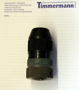 FEIN Schnellspannbohrfutter RÖHM B16 Supra SK 1-13mm, + Abtreibkeilesatz, neu
