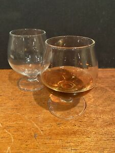 Whisky Whiskey Bourbon Sniffing Sipping Glasses Set 2 Glass Glencairn With Base