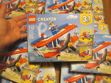 LEGO CREATOR 3 IN 1 DAREDEVIL STUNT PLANE 31076 NEW FACTORY SEALED 200 PCS