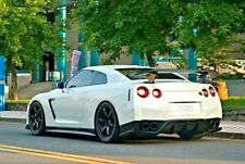 REXPEED Rear Bumper Extensions for  NISSAN GTR R35