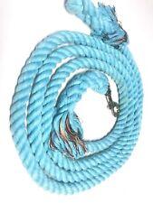 Cotton Lead Rope Light Blue