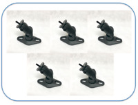 Set Of 5 Wall Mount brackets  For Bose Lifestyle Satellite speaker - Black
