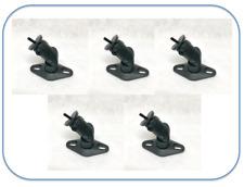 Set Of 5 Wall Mount brackets  For Bose Lifestyle Satellite speaker - Black