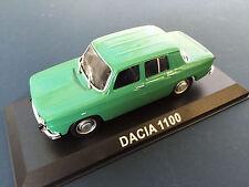 DACIA 1100 (RENAULT 8)  MODEL DIECAST IXO / IST LEGENDARY CARS 1/43 BA44