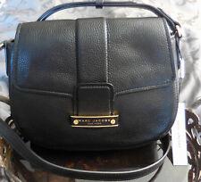Marc Jacobs ~TRAVELER Leather Messenger Purse Bag~M0015377~BLACK~ NWT $350