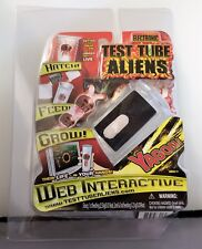 Electronic Test Tube Aliens Alien Yagoni Web Interactive Hatch Feed Grow NIP