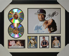 50 CENT SIGNED MEMORABILIA FRAMED 2 CD LIMITED EDITION 2016 #B