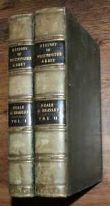 1818 Neale & Brayley: History & Antiquities, Abbey Church St. Peter, Westminster