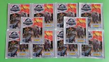 Panini Jurassic World Fallen Kingdom Sticker 10 Tüten 50 Bilder Neu