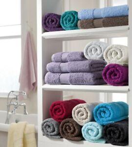 MIAMI Towels Pack of 2 700GSM 100% Egyptian Cotton Hand, Bath, Jumbo Bath Sheet