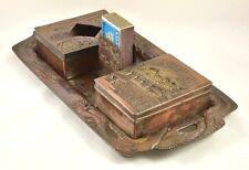 Vintage Nikko Smoking Tray Set. Incl. Tray, Match/Cig. Holders, Ashtray. c.1930s