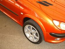 PEUGEOT 206  FRONT WHEEL ARCHES by MUSKETIER TUNING
