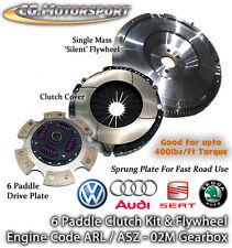6 Speed Audi TT 2.0 TDi CBBB CR170 - Single Mass Flywheel & 6 Paddle Clutch