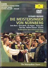 2.DVD WAGNER: DIE MEISTERSINGER VON NÜRNBERG Morris Heppner Mattila Pape LEVINE