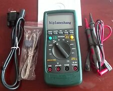 Digital Multimeter DMM 3999 DC AC V/A Ohm Cap. Freq. Temp.-20-1000C RS232 MS8226