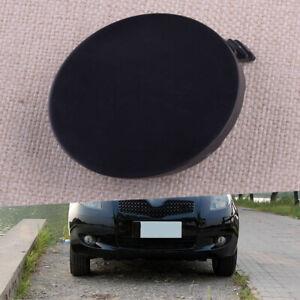 Front Bumper Tow Hook Eye Cover Cap fit for Toyota Yaris as 4-Door Sedan 2006-10